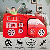 Fire Truck Tent for Kids, Toddlers, Boys & Girls