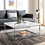 Product review for Safavieh Home Collection Malone White and Chrome Coffee Table