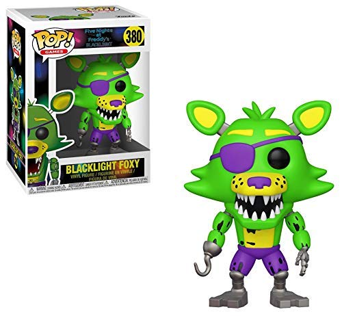 Funko Figura Pop Blacklight Foxy Exclusive - Five Nights en Freddy S