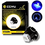96 bronco center console - CCIYU 10 Pack Super Blue 5050 SMD T5 Neo Wedge LED Light Climate Heater Control Lamp Bulbs 12-14V DC For 1999-2001 Saab 9-3