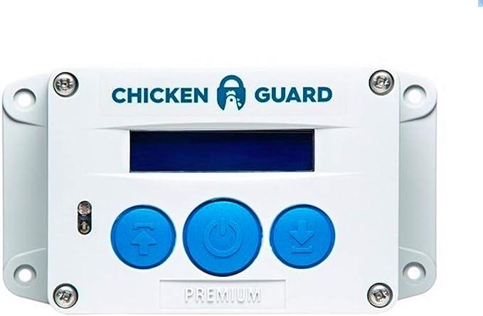 ChickenGuard ® Premium Sistema de Apertura Automática para Puerta de Gallineros