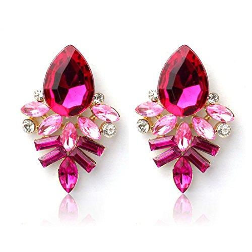 Bestpriceam Fashion Rhinestone Crystal Earrings