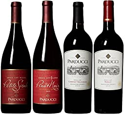 Parducci Wine Cellars Classic Red Wine Mixed Pack, 4 x 750 mL