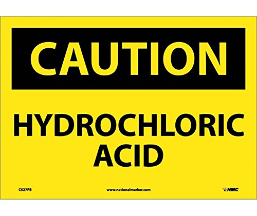 Hydrochloric Acid Sign (Caution Hydrochloric Acid Sign)