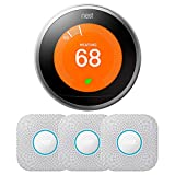 Nest Learning Thermostat 3rd Generation Stainless Steel T3007ES 3-Pack Deal (Small Image)