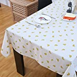 DIDIDD round Table Cloth for Hotels Garden Tablecloth Restaurant Tablecloths Fabric Banquet Box Table Cloth,B,140x300cm(55x118inch)