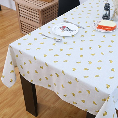 DIDIDD round Table Cloth for Hotels Garden Tablecloth Restaurant Tablecloths Fabric Banquet Box Table Cloth,B,140x300cm(55x118inch) by DIDIDD