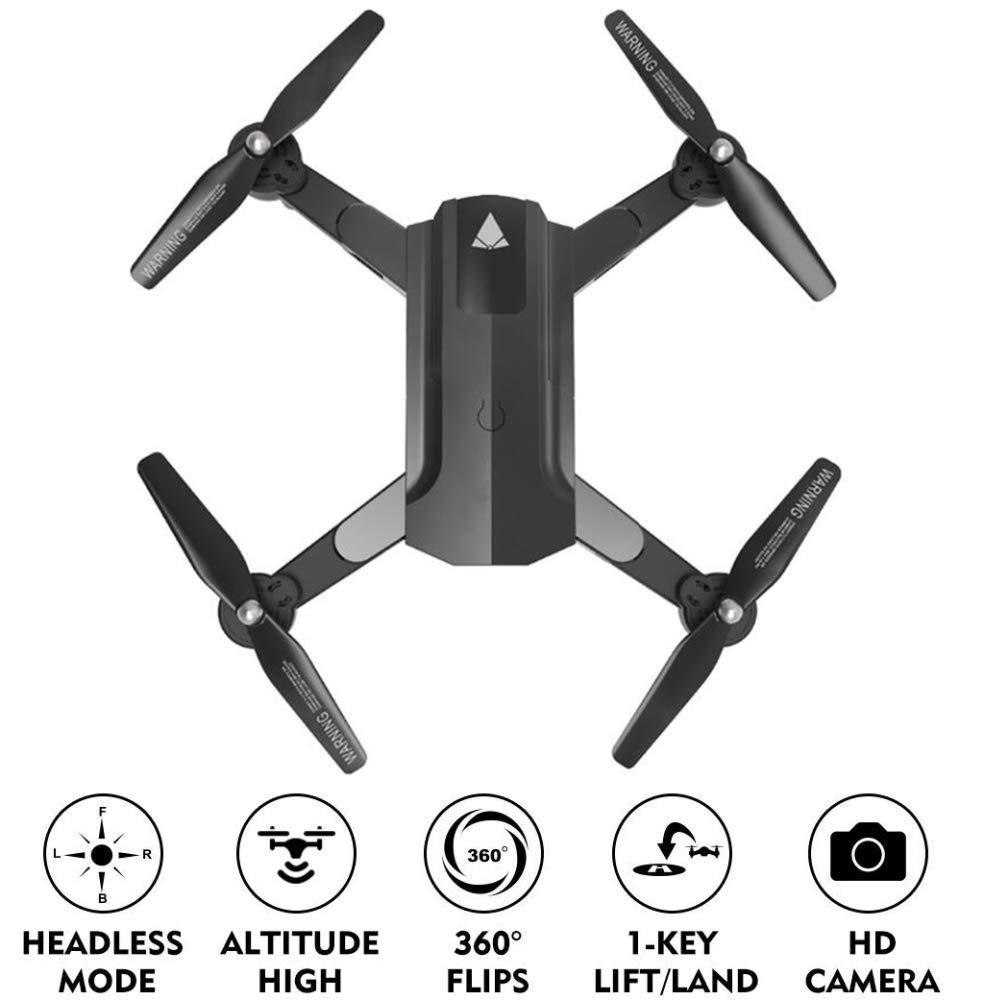 ERKEJI Drohne Fernbedienung Quadcopter Luftdruck Feste Höhe Spielzeug Flugzeuge 720P   1080P Echtzeitübertragung Luftbildkamera WiFi FPV VR A