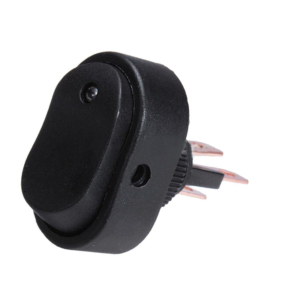 Supmico 5 X 12V 30A Auto KFZ Schalter Wei/ß LED Licht Lampe EIN//AUS Wippenschalter Kippschalter 3-polig