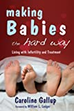 Making Babies the Hard Way: Living with Infertility and Treatment, by Caroline Gallup. Publisher: Jessica Kingsley Pub; 1 edition (May 15, 2007)