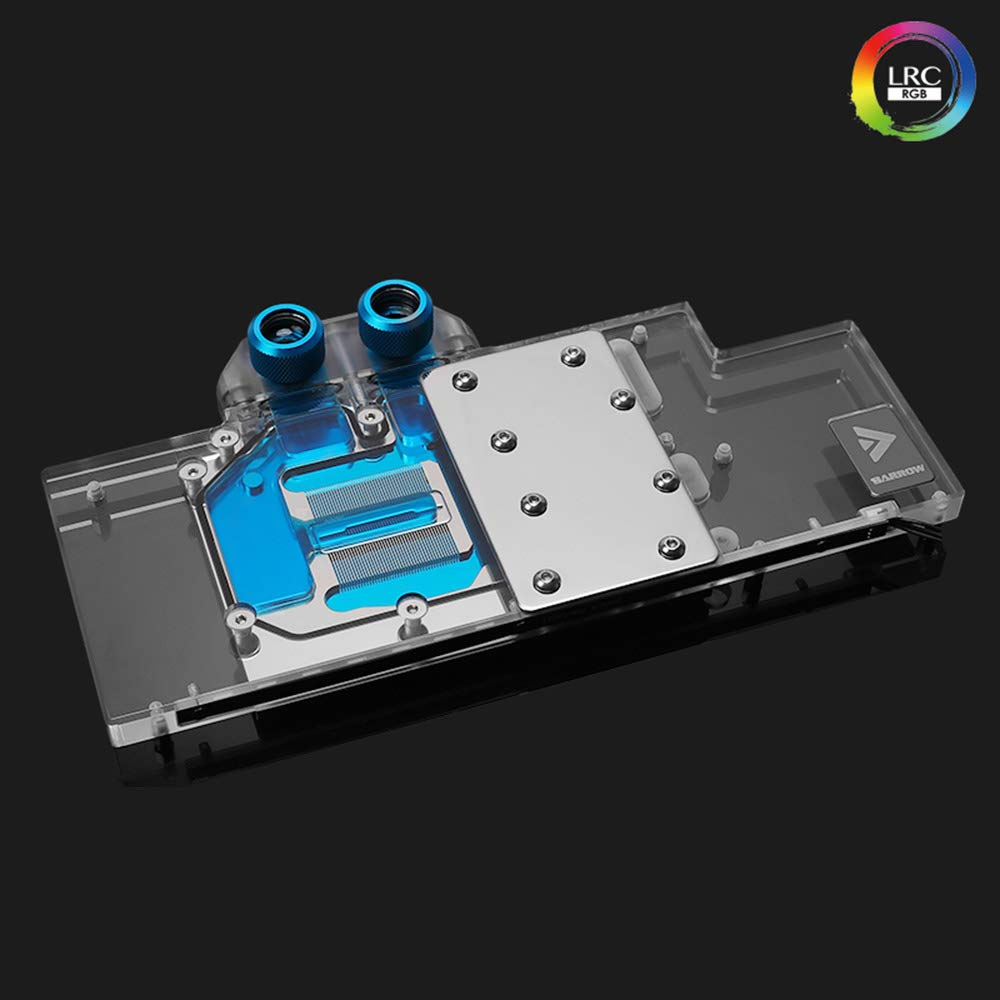 Barrow Copper GPU LRC Water Cooling Block for Gigabyte RTX 2080Ti 2080 2070 (for Gigabyte RTX 2080/2070 Super)
