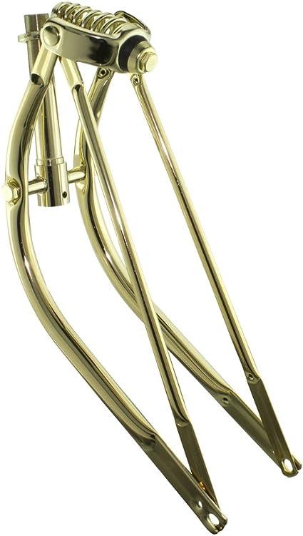 BICYCLE SPRING FOR SPRINGER FORK GOLD NEW