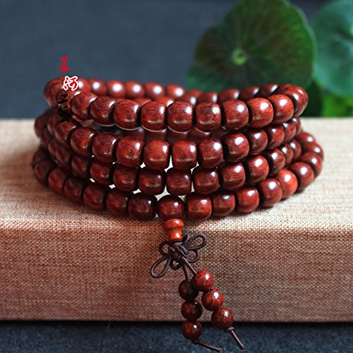 Hot apple Zambia blood Tan beads male and women girls models 6 87 98 10 beads bracelet for business gifts