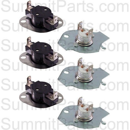 3PK - THERMAL CUT-OFF KIT FOR WHIRLPOOL - ET184, 279769, ...