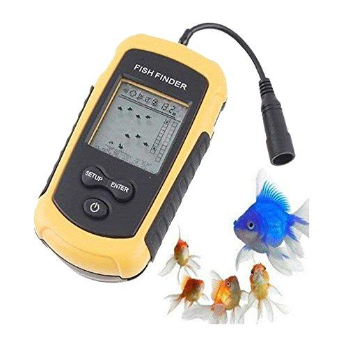 A31100m Giunto Bar Ecoscandaglio sonar Sensor LCD Allarme Pesce Finder ortungs dispositivo Aukson V4