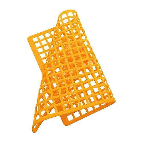 (Sonmer 1:14/1:6 Elastic Netting Cargo Windows Slash RC Accessories for UDR RR10 TRX4 Axial SCX10 II (Orange))