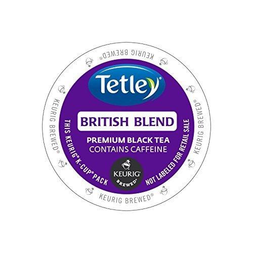 Tetley Tea British Blend Kcups 96ct (Best British Tea Brands)
