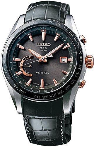 - Seiko Astron GPS Solar Titanium Mens Watch SSE095