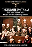 The Nuremberg Trials - the Complete Proceedings Vol 1, , 1908538767