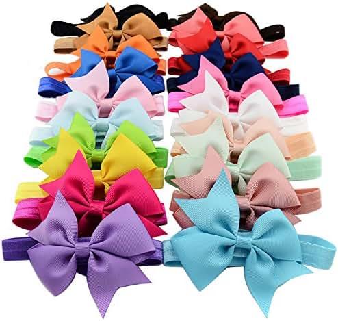 20pcs Baby Girls Headbands 4