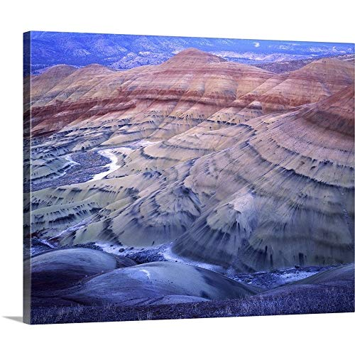Gallery-Wrapped Canvas Entitled Oregon, John Day Fossil Beds National Monument, Painted Hills by Charles Gurche 20
