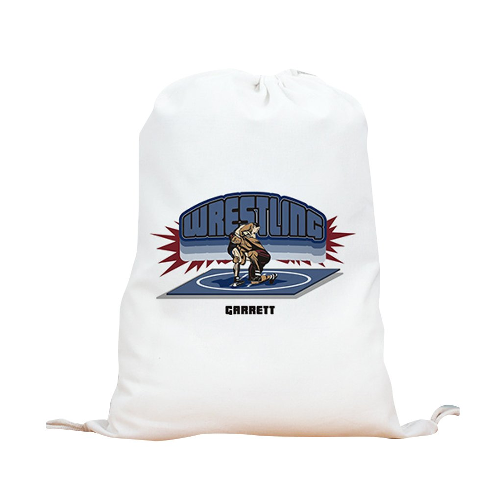 GiftsForYouNow Wrestling Personalized Sports Bag