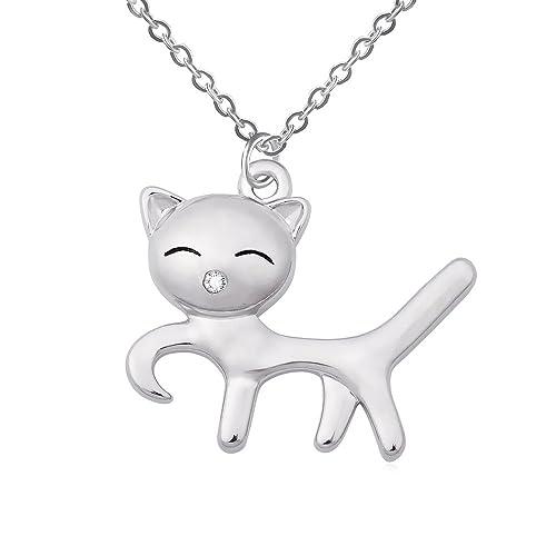 Amazon.com: ruxiang lindo correr regalos de joyería collar ...