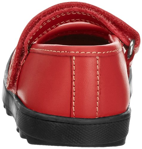 Rouge Bar Kickers Sandales Fille If Rouge Plunk Bout Ouvert P1wx8Hpq