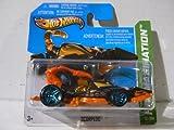 Hot Wheels HW Imagination Scorpedo Black with Orange Tail on Short Card