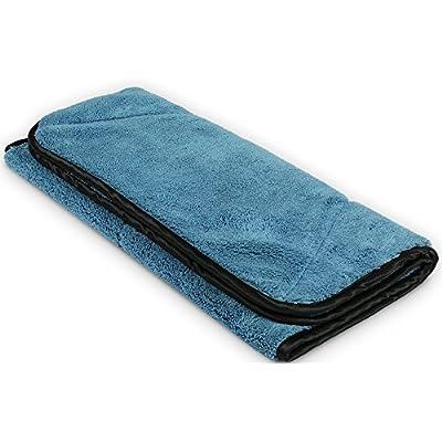 Detailer's Preference Mega Microfiber Towel Super Absorbent 780 GSM 32in X 18in: Automotive