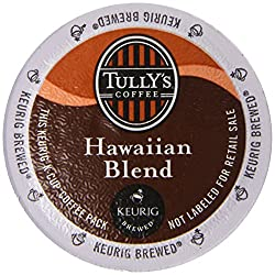 Tully's Coffee Hawaiian Blend 48 K-Cups