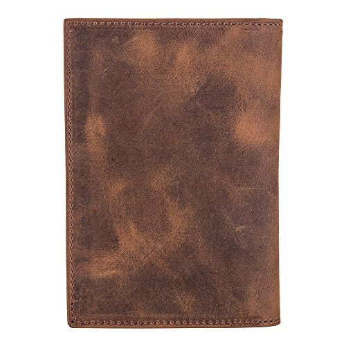 in for Turkish Genuine Traveling Wallet Handmade Holder Passport Case Luxury Antique Burkley Leather Camel Leather Pvw0YzW