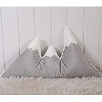 Amazon.com: nunubee Nieve Montaña cojines Mantas Home Decor ...
