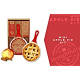 Mini Apple Pie Baking Kit   Includes Individual-Sized 5-Inch Ceramic Skillet, Pie Crust Mix, and Cinnamon Sugar Spice Mix