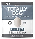 Designer Protein Totally Egg Protein Powder, Classic Vanilla, 12.4 Ounce For Sale