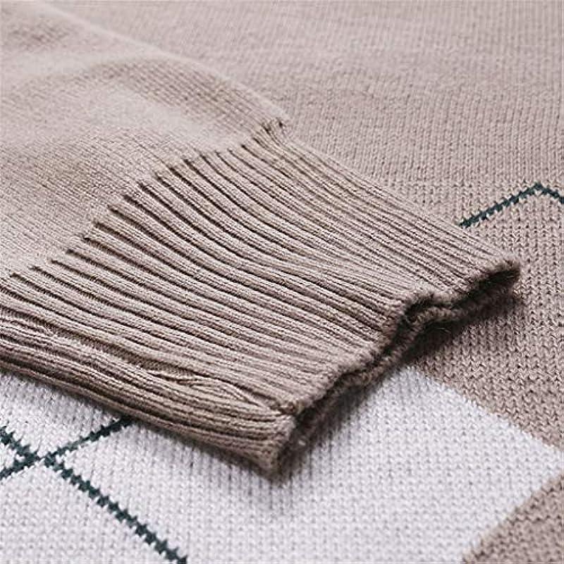 Zarupeng męski sweter z dzianiny Slim Fit z okrągłym dekoltem zima casual z długim rękawem sweter sweter sweter sweter bluza bluza Basic bluza top: Odzież
