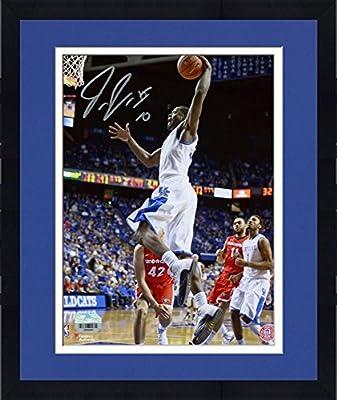 "Framed Julius Randle Kentucky Wildcats Autographed 8"" x 10"" Dunking Photograph - Fanatics Authentic Certified"