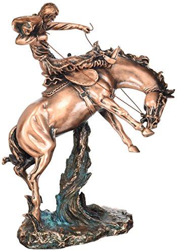 Ride Horse Statue (StealStreet SS-BA-C-D730 15.5