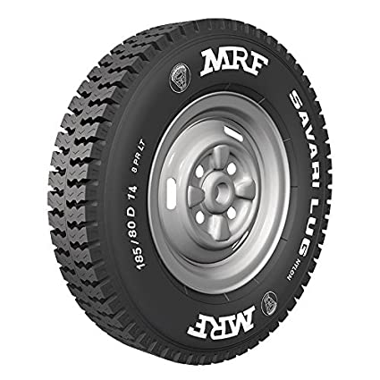 Mrf Lt 185 D14 Savari Lug N8 102 100k 8pr Tube Tyre Rear Only