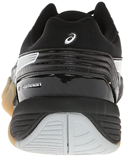 ASICS Women's Gel Dominion Volley Ball Shoe Black/Silver/White cheap clearance shop offer cheap online shopping online cheap online get authentic cheap online wide range of YyE42HLSV