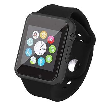 HOYHPK Reloj De Pulsera Bluetooth Reloj Deportivo Podómetro ...
