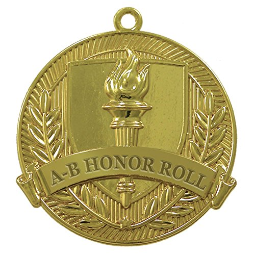 AB Honor Roll Gold Medal (Set of 25) by Jones School Supply Co., Inc.