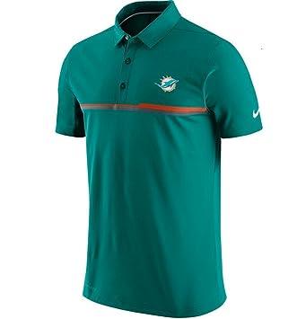 618f0960e Nike Miami Dolphins Coaches Elite Aqua Sideline Performance Polo Shirt Mens  SIze Medium  Amazon.co.uk  Sports   Outdoors