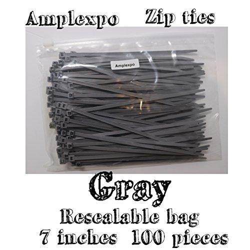 """Amplexpo 7"""" Standard Cable/ Zip Ties"""