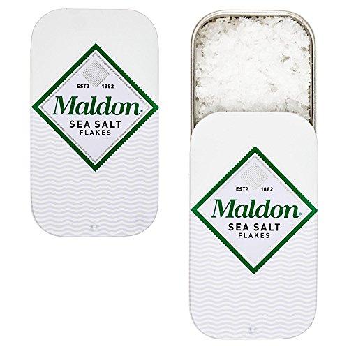 De Flakes (Maldon Sea Salt Flakes Pinch Tin (3)