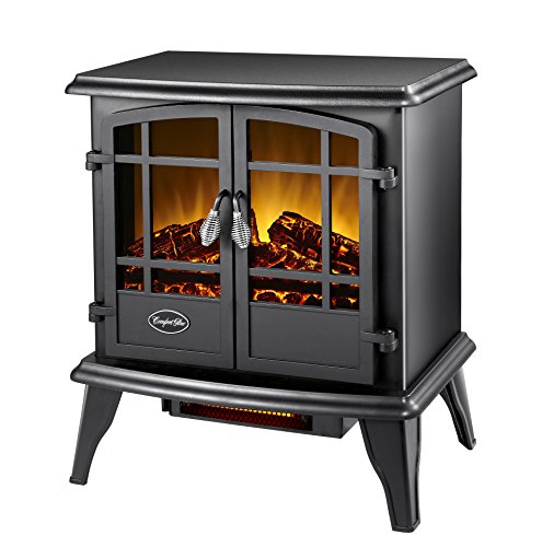 Cheap Comfort Glow EQS130 Keystone Infrared Quartz Electric Stove Black Friday & Cyber Monday 2019
