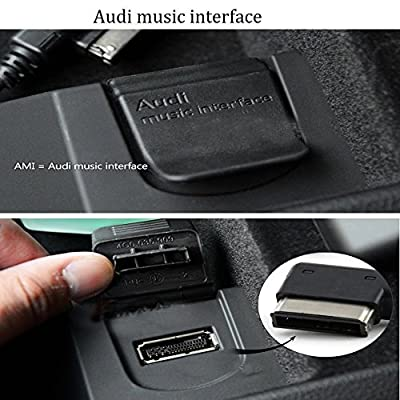 AMI MDI AUX Cable,Car Music Audio Interface Adaptor for Selected Audi VW Volkswagen Models(only Audio): Home Audio & Theater