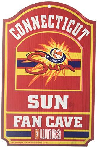 (Wincraft WNBA Connecticut Sun Wood Sign, 11