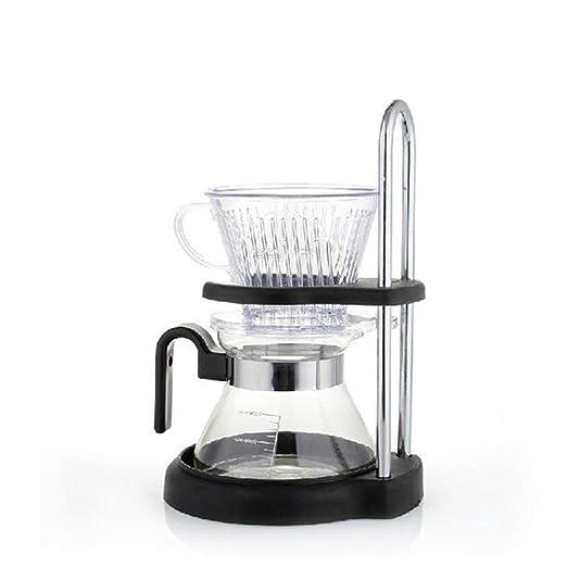 Filtro de goteo Cafetera de mano Juego de filtro de taza de café ...