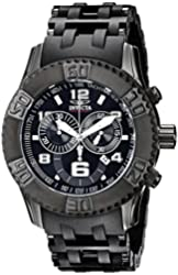 Invicta Watches Mens Sea Spider Chronograph Stainless Steal Watch